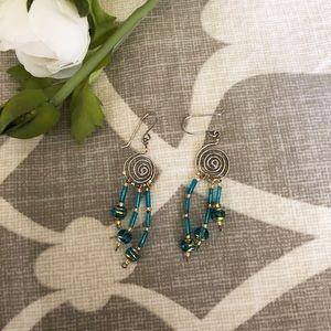 Jewelry - Handmade Italian Beaded Earrings
